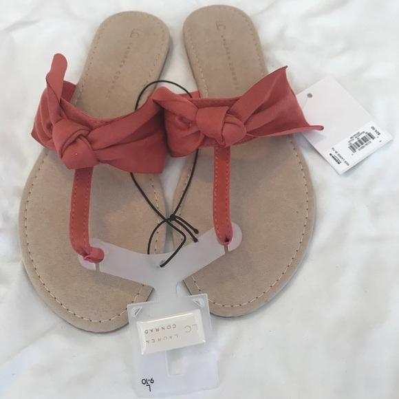 4a9f9de94b9d LC Laura Conrad Floppy Knot Thong Sandals